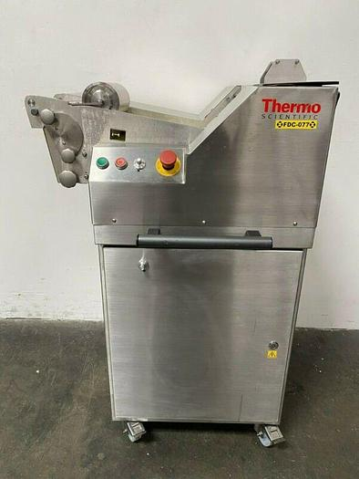"""Used Thermo Fisher Scientific Rolled Chilled Lab Mill w/ 8"""" Roller & 22"""" Belt"""