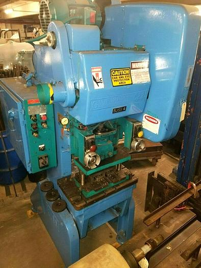 Used Bliss Stamping Punch Press OBI 22 Ton Air Clutch Air Brake NICE!