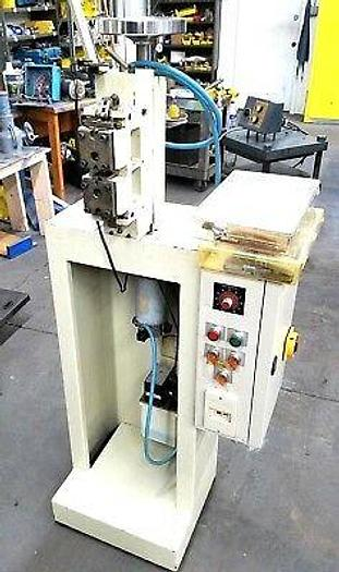 Used S Gelovato Automatic Hammering Machine for Brass Silver Gold Chain or Flat Stock