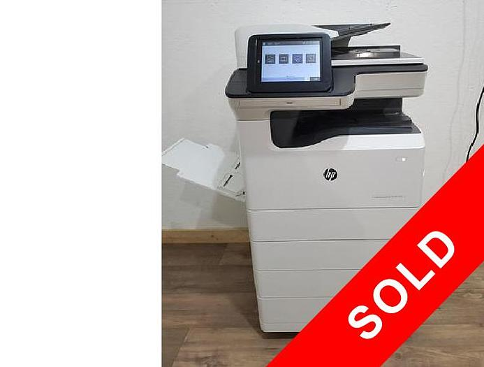 Used HP PageWide E77650 Full Color Inkjet Printer