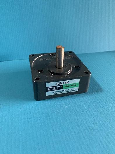 Used oriental motors gear head 4gn18k