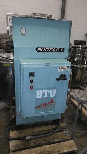 Used 12 KW BUDZAR HOT OIL HEATER – 1 ZONE – 230 VOLT