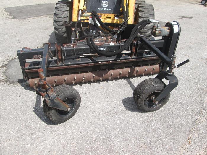 Used John Deere Skid Steer PR72B Power Rake