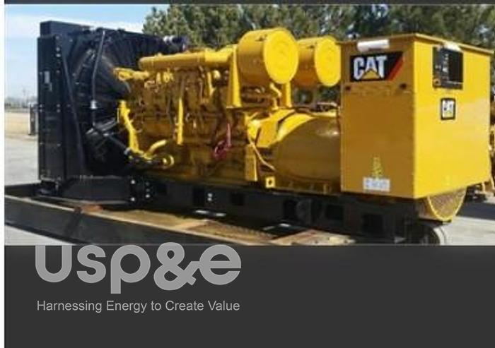 Used 1.5 MW 2019 Used Caterpillar 3512B Diesel Generator Sets
