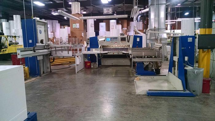 """Used 61"""" (1.54M) WOHLENBERG MDL 155 CUT-TEC COMPLETE CUTTING SYSTEM"""