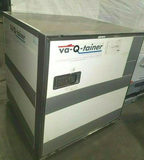 Used VA-Q-Tainer Cooler Cold Ice Box Biological Ship Container Transport Medical