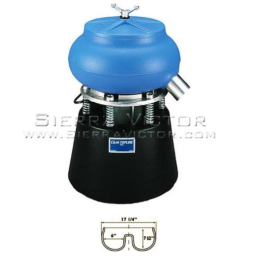 C&M TOPLINE Bench Top Vibratory Bowl TLV-50