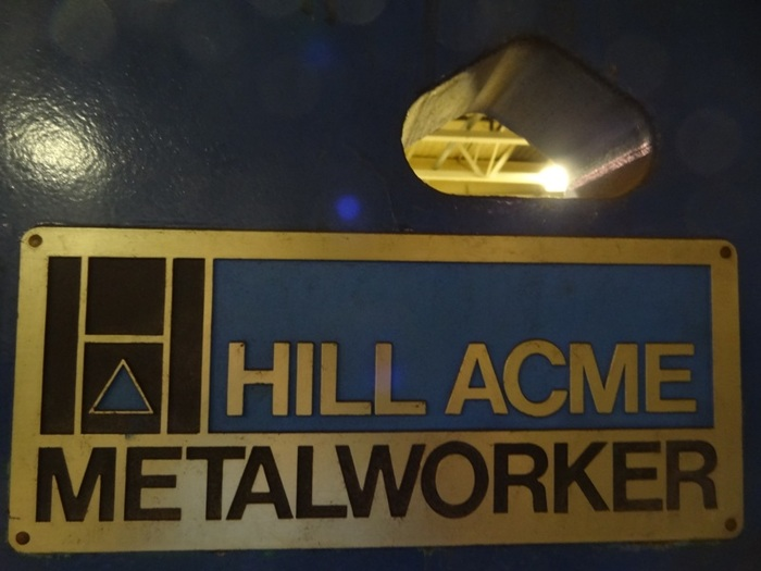 HILL ACME 4A 70 TON UNIVERSAL HYDRAULIC IRONWORKER