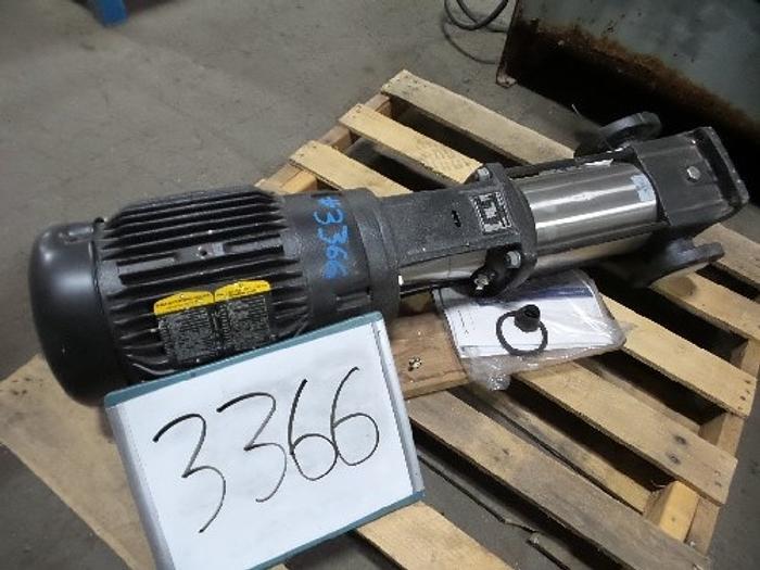 Used Grundfos  In-Line Pump 3'' x 3''