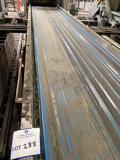 Used Steel Conveyor 5m L 0.85m W