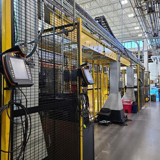 Used KUKA KR60 JET GANTRY ROBOT SYSTEM WITH KRC4 CONTROLLER