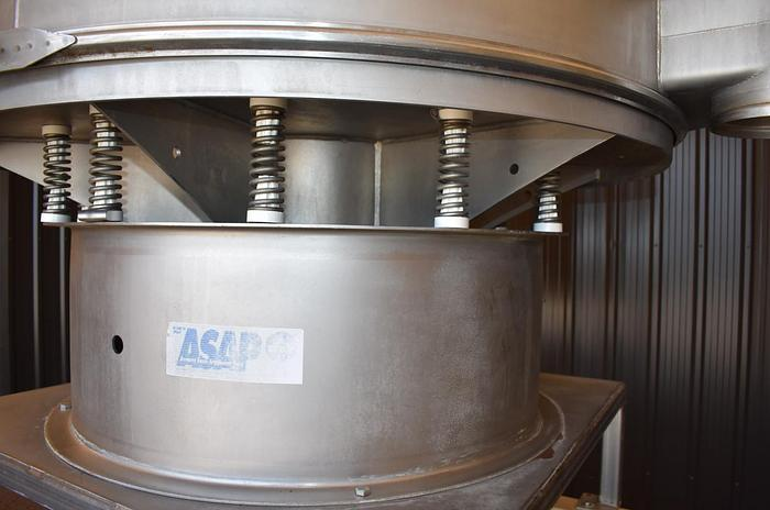 "USED SWECO SCREEN, 60"" DIAMETER, ALL STAINLESS STEEL, SANITARY"