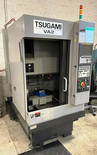 "Used 3136, Tsugami, VA-2 14"" x 10"" x10"", 30,000 RPM High Speed Precision VMC, 2015"