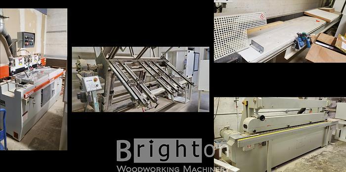 Used (4 machines) 5 Piece Door Making Package