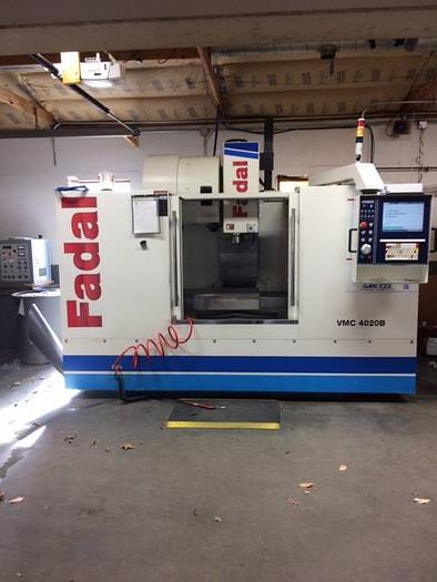 Used 2014 Fadal CNC Vertical Machining Center 4020B