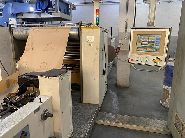Used 2003 CURIONI SUN MASTER 541 (SERVO) Paper bag making machine with twisted handles unit