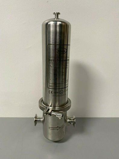 "Used PALL PPORHSG-01-X 3.5 Liter 20"" Stainless Steel Filter Housing PGTD11G23DD1H4"