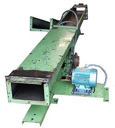 Used Webster Vibrating FSL Powered Conveyor