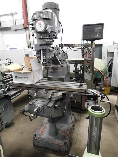 Used Alliant Vertical Milling Machine