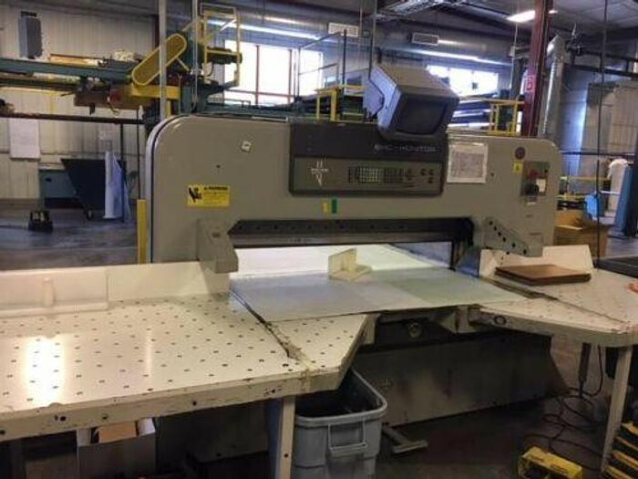 """Used 61"""" (1.54M) WOHLENBERG MDL 155 MON GUILLOTINE CUTTER"""
