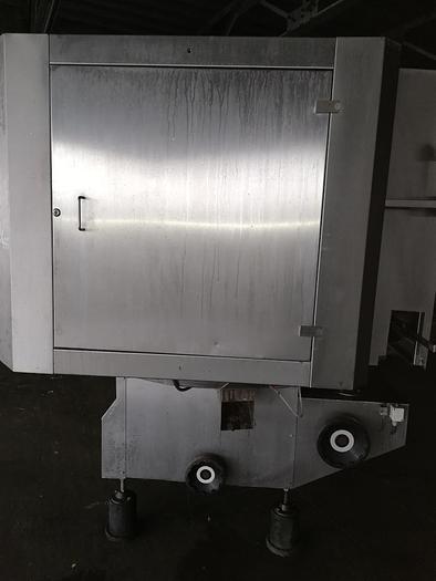 Używane Napełniarka karuzelowa - gniazdowa w puszki, słoiki, opakowania plastikowe lub kartonowe firmy MECOM