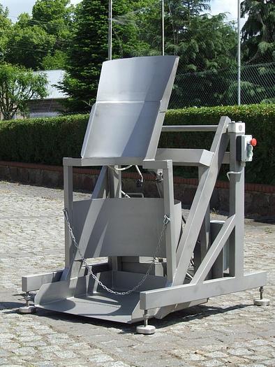 Używane Wywrotnica do beczek h=750 mm