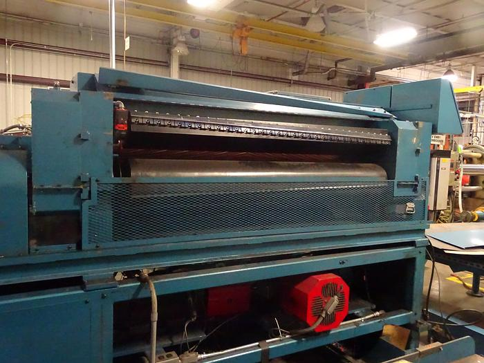 "Used 62"" (1.60M) MAXSON SDFK ROTARY KNIFE SHEETER 11"" - 40"" CUT OFF 300 FPM"