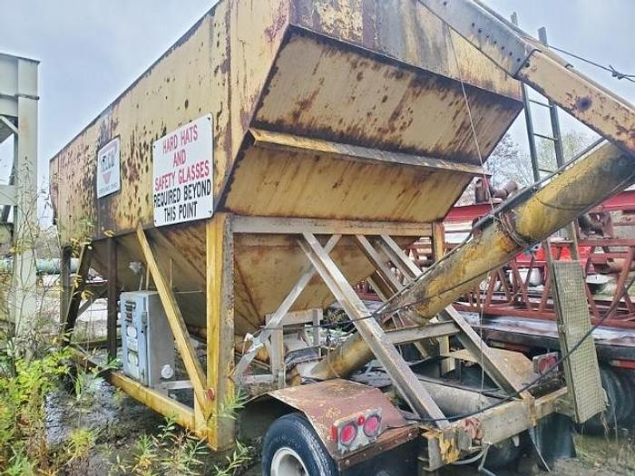 Used HELCO Low Profile Portable Cement Silo