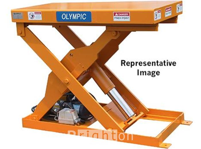Used Olympic OMS2472-3 Used 3000lb Hydraulic Scissor Lift Table