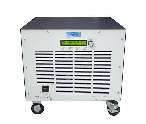 Used T&C Power Conversion AG1024  LF Generator & Amplifier RF 2000W (4353)R