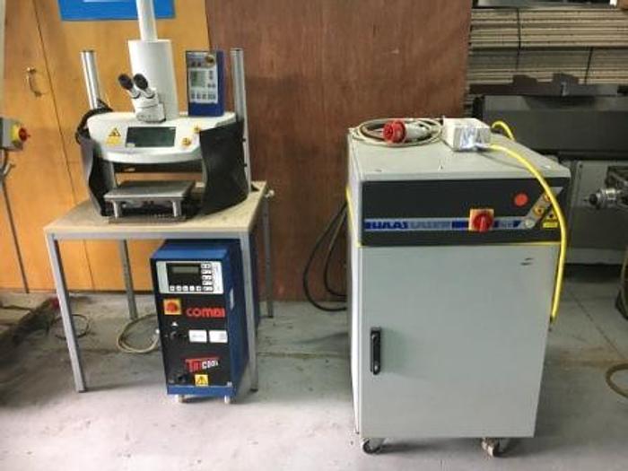 Used HAAS HL 54P Laser Welder
