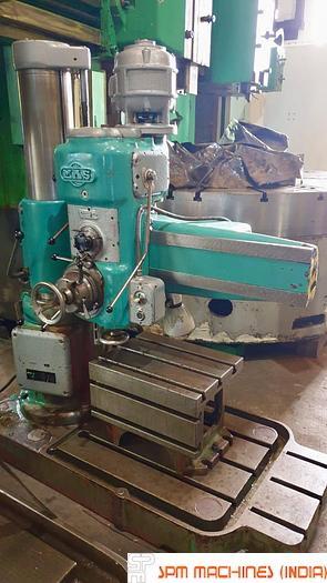Used MAS VR2 Radial Drill Machine