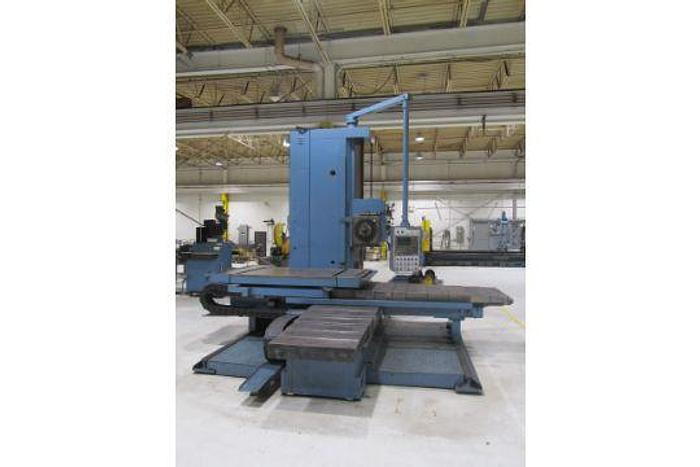 "Used WMW 4"" Table Type Horizontal Boring Mill"