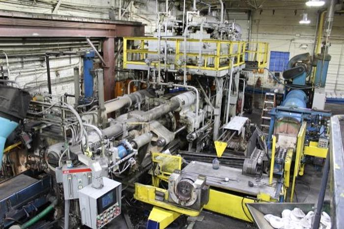 2400 ton Lombard Aluminum Profile Extrusion Line: EX-487