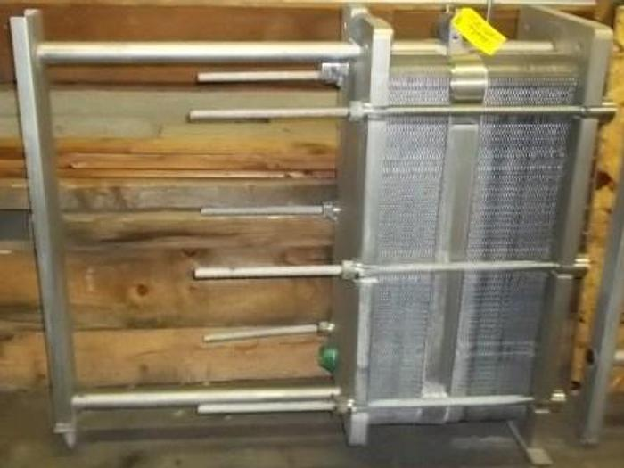 Used MUELLER AT20 DFM-P96 Plate Cooler Heat Exchanger