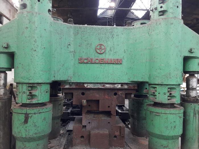 Used Hot Forging Line Schloemann