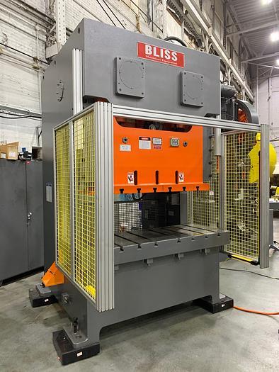 121 ton Bliss 2pt. Gap Frame Mechanical Press (NEW)