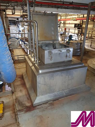 Used APV 1,000 Litre Stainless Steel Liquiverter with High Shear Mixer