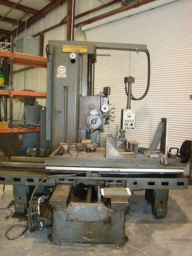 "4"" GIDDINGS & LEWIS FRASER Model 70A-DP4-T Horizontal Boring Mill"