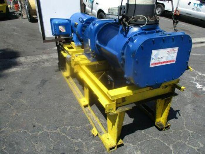 Used Complete 100 H.P. G / D 3600 CFM Helical Screw Blower Model 9CDL23K CYCLOBLOWER
