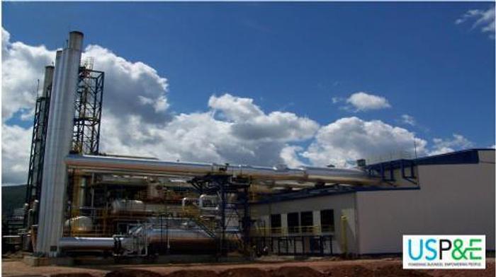 Used 43 MW 2002 Used Wartsila 20V34SG Natural Gas Generator