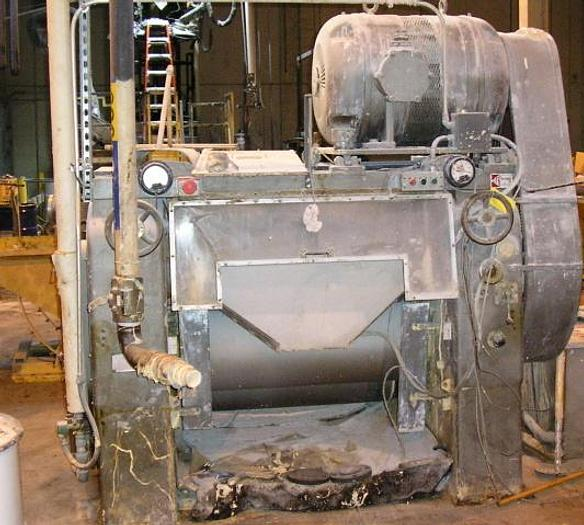 Used MULLINS MFG. CO. THREE ROLL MILL WITH OFFSET ROLLS