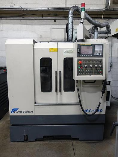 Used Fintech HSC-450 Vertical Machining Center (2006)