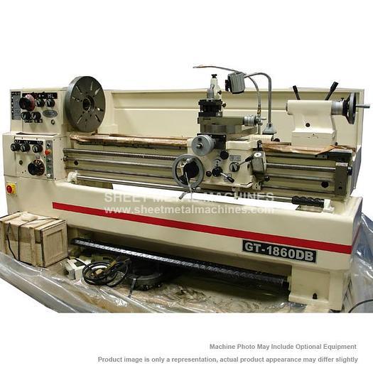 GMC Machine Tools High Speed Precision Gap Bed Lathe GT-1860DB
