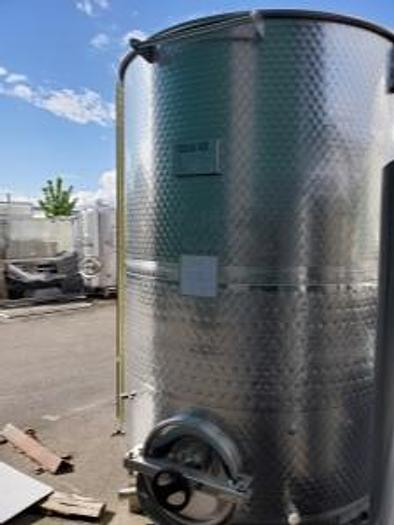 Toscana Inox 3000L Jacketed Open Top Tank