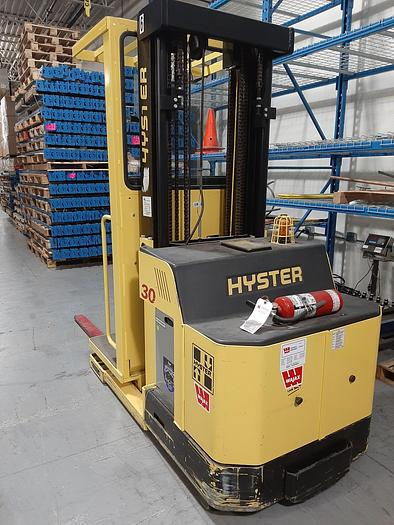 Used 2014 HYSTER R30XMS3 Order Picker with Wire Guidance