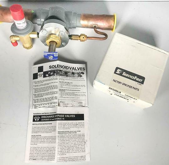 Sporlan SHGBE-15-0/75 110DF Pressure Regulating Valve Discharge Bypass (7829) R