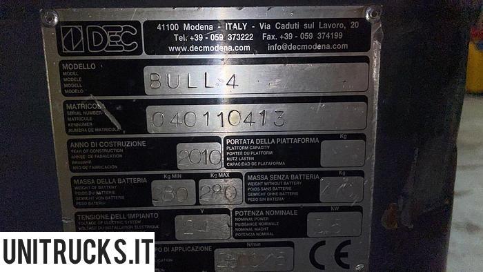 Usata 2010 DEC BULL