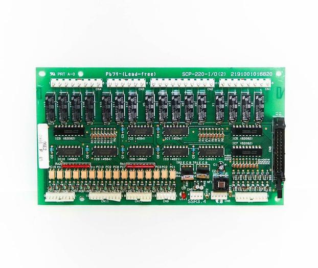 Used Amada PB7 SCP-220-I/O(2) 2191001016820 0GE2 0969 F 05 SSR3.4 PRT A-0 (4929) c