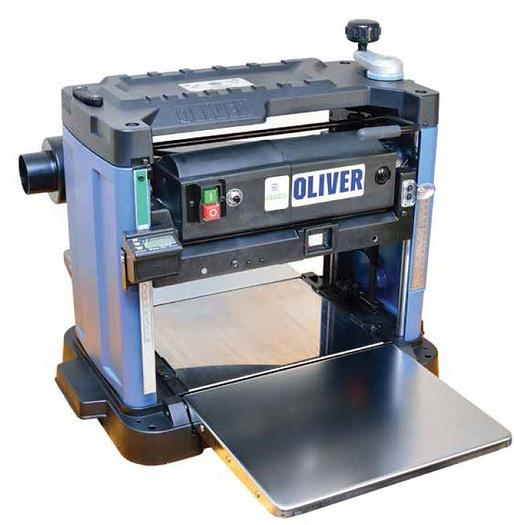 "Oliver 10044 12-1/2"" Bench Top Planer w/Byrd Shelix Cutterhead"